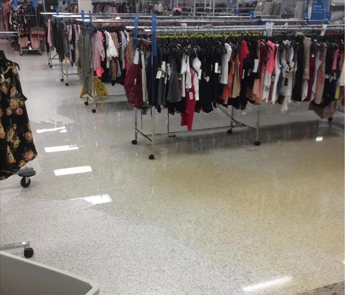 Sink Leaks in Columbia Department Store Before