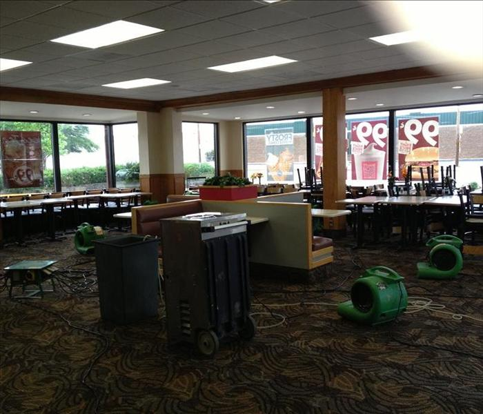 Water Damage Commercial Loss