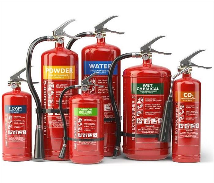 Fire Damage Fire Extinguishers - What You Need To Know